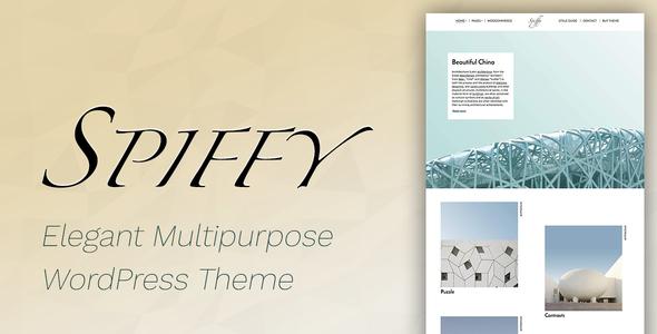 قالب Spiffy - قالب وردپرس فروشگاهی زیبا