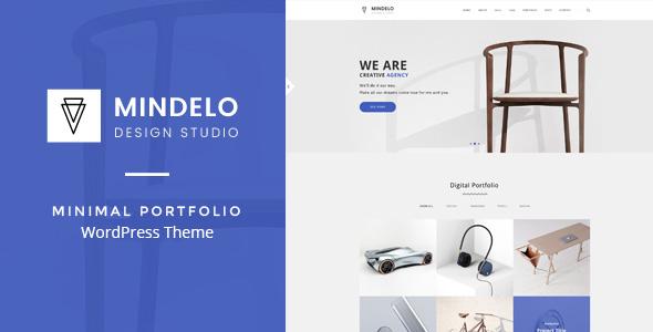 Mindelo - قالب وردپرس نمونه کار
