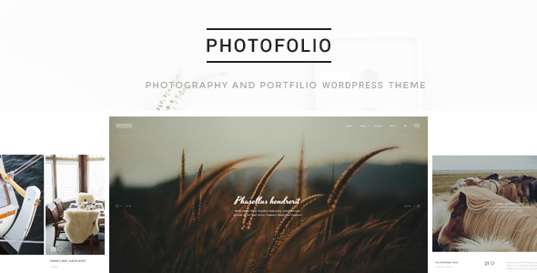 Photofolio - قالب وردپرس عکاسی و نمونه کار