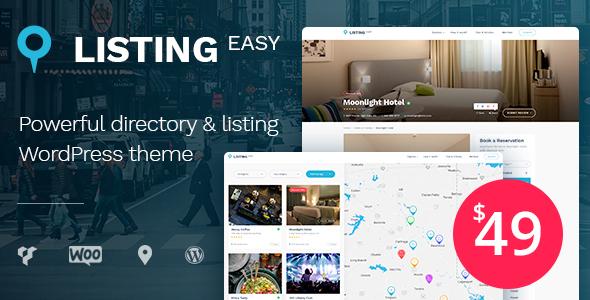 قالب ListingEasy - قالب وردپرس دایرکتوری و فهرست
