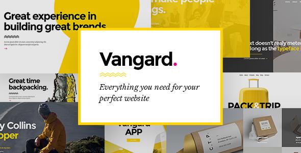 قالب Vangard - قالب وردپرس موسسات و مترجمان