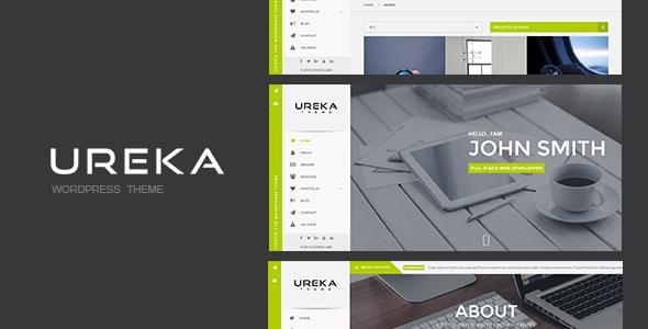 UREKA - قاب وردپرس کارت ویزیت مجازی