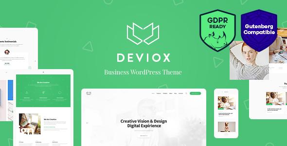 قالب Deviox - قالب وردپرس کسب و کار چند منظوره
