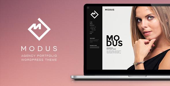 قالب Modus - قالب وردپرس نمونه کار