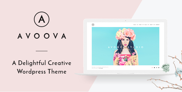 قالب Avoova - قالب وردپرس خلاقانه