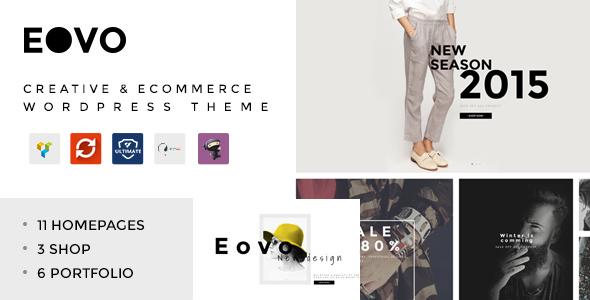 قالب EOVO - قالب وردپرس فروشگاهی