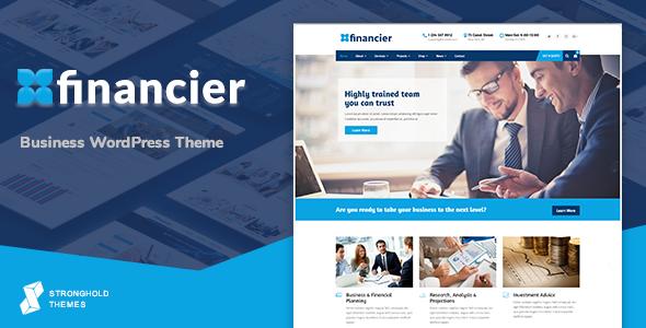 قالب فینانسیر | Financier - قالب وردپرس کسب و کار