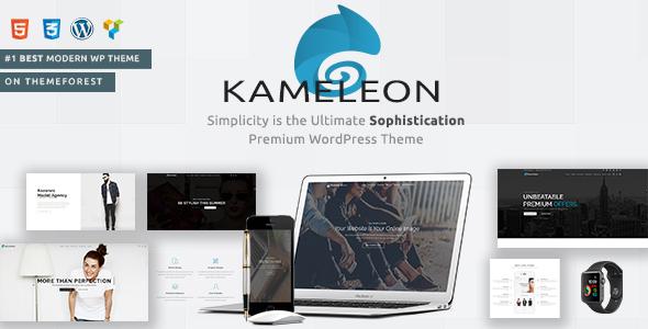 قالب Kameleon - قالب خلاقانه وردپرس