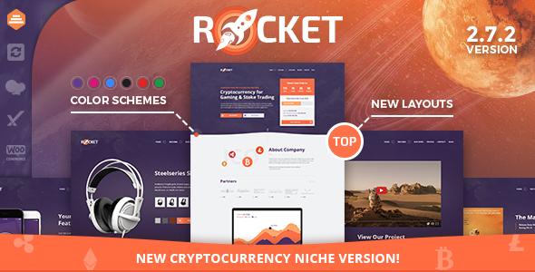قالب Rocket - قالب وردپرس چند منظوره و خلاق