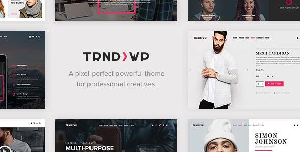 قالب Trendy - قالب وردپرس چند منظوره خلاقانه