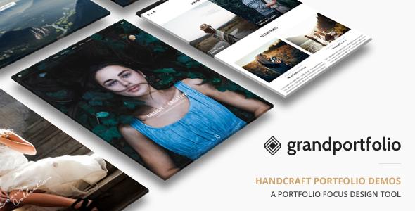 قالب Grand Portfolio - قالب وردپرس سایت نمونه کارها