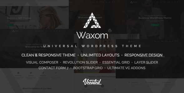 قالب Waxom - قالب وردپرس همگانی
