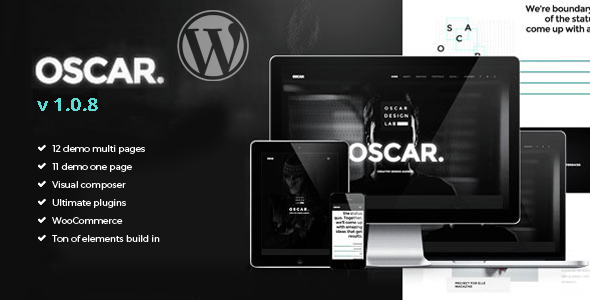 قالب Oscar - قالب وردپرس چند منظوره خلاقانه