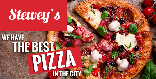 Steweys - پوسته وردپرس فست فوت و پیتزا
