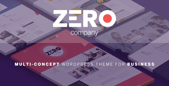 Zero - پوسته وردپرس شرکتی