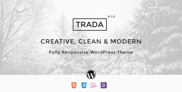 قالب Trada - قالب وردپرس آژانس خدمات دیجیتال چند منظوره