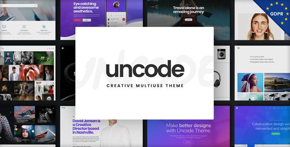 Uncode - قالب وردپرس چند منظوره خلاقانه