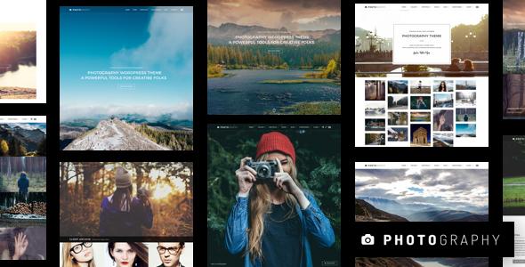 قالب Photography - قالب عکاسی وردپرس