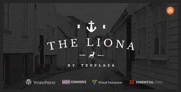 قالب LIONA - قلب وردپرس نمونه کار