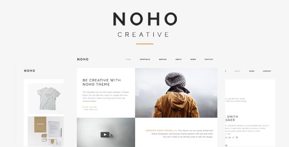 قالب Noho - قالب وردپرس نمونه کار