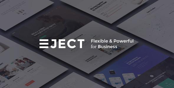 قالب Eject - قالب وردپرس استدیو وب