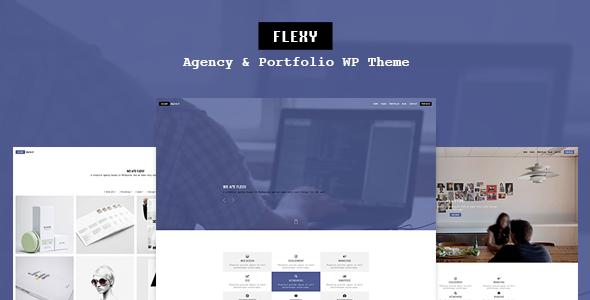 قالب Flexy - پوسته وردپرس شرکت طراحی