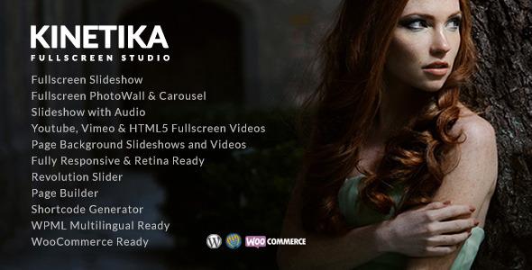 قالب Kinetika - قالب تمام صفحه عکاسی
