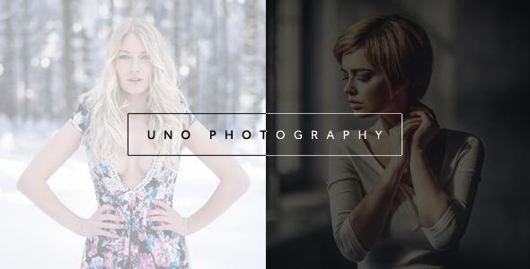 قالب Uno - قالب وردپرس عکاسی خلاقانه