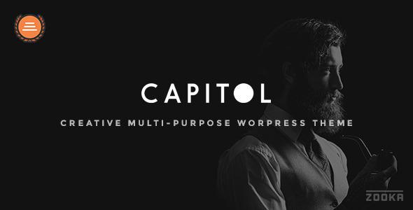 قالب Capitol - قالب وردپرس چند منظوره خلاقانه