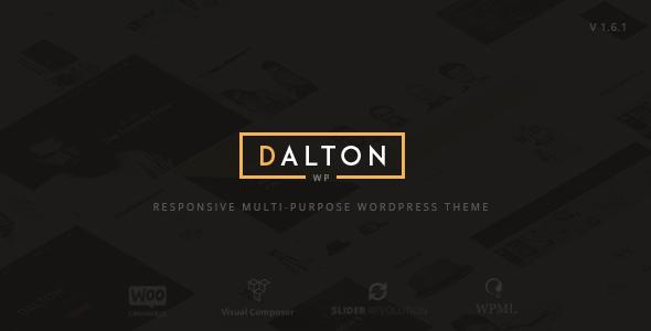 قالب Dalton - قالب وردپرس چند منظوره ساده