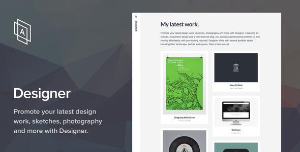 قالب Designer - قالب وردپرس