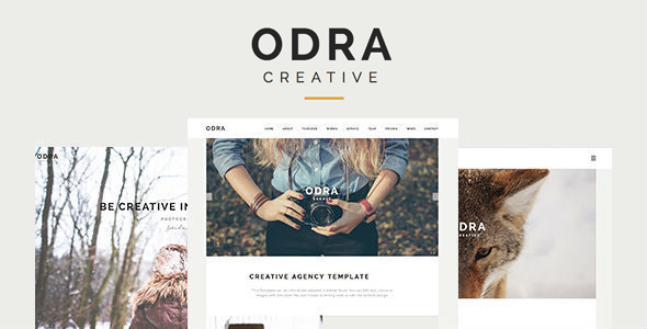 قالب ODRA - قالب وردپرس چند منظوره خلاقانه