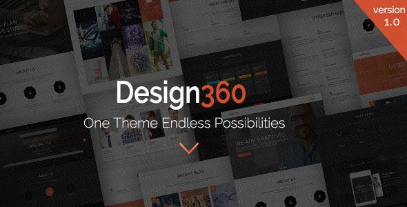 قالب Design 360 - قالب وردپرس یک و چندمنظوره