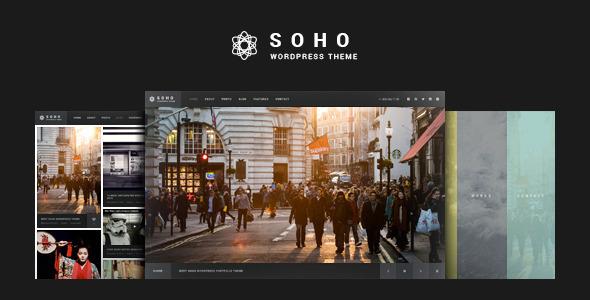 قالب SOHO - قالب وردپرس تمام صفحه عکس و ویدئو