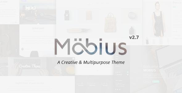Mobius - قالب وردپرس چند منظوره ریسپانسیو
