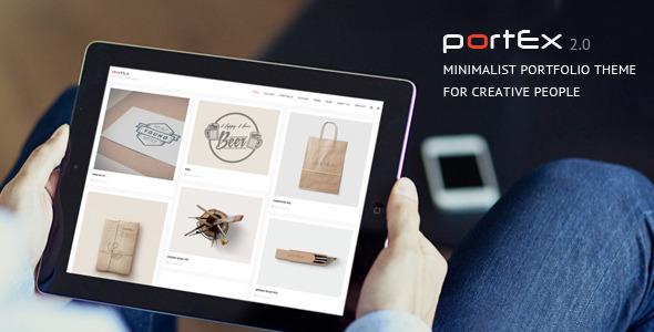 قالب Portex - قالب وردپرس نمونه کار عکاسی