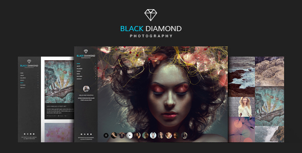قالب DIAMOND - قالب وردپرس عکاسی