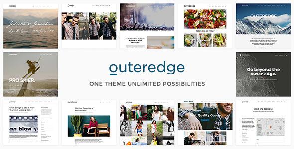 قالب Outeredge - قالب چند منظوره ریسپانسیو