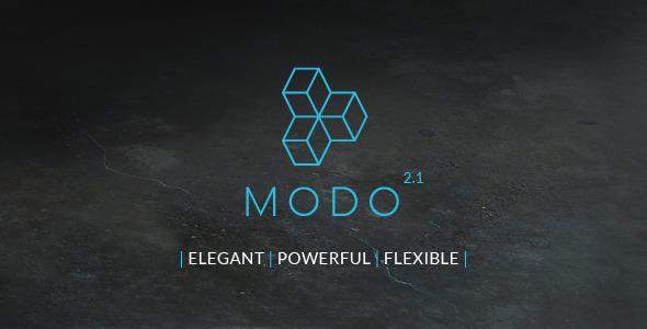 قالب MODO - قالب ریسپانسیو چند منظوره