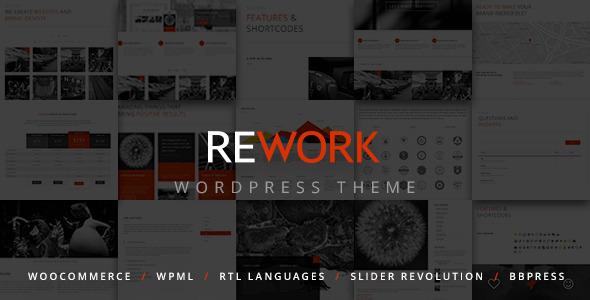قالب Rework - قالب مدرن وردپرس
