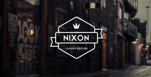 قالب Nixon - قالب تک صفحه ای و چند منظوره