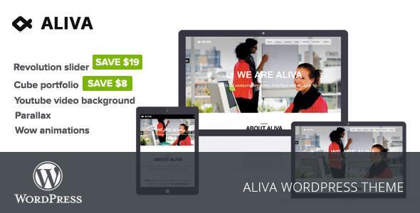 Aliva - قالب وردپرس خلاق