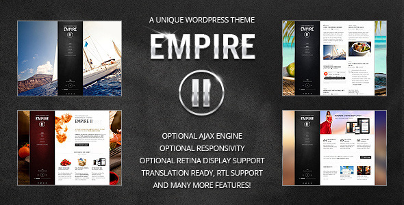 قالب Empire II - قالب وردپرس