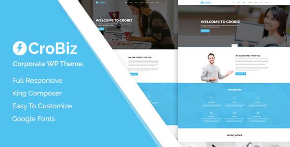 قالب Crobiz - قالب وردپرس شرکتی