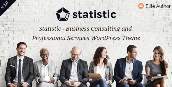 قالب Statistic - قالب وردپرس مشاوره کسب و کار و خدمات حرفه ای