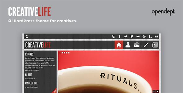 قالب CreativeLife - پوسته وردپرس
