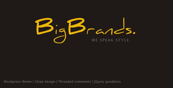قالب برندهای بزرگ | BigBrands - قالب وردپرس