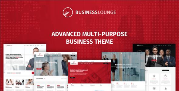 قالب Business Lounge - قالب وردپرس چند منظوره مشاوره و کسب و کار