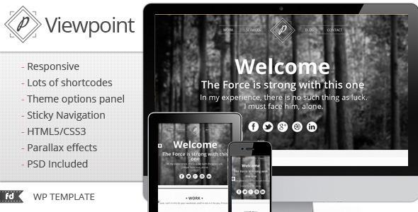 قالب Viewpoint - قالب وردپرس نمونه کار