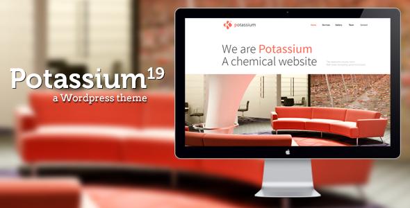 Potassium - قالب وردپرس تک صفحه ای